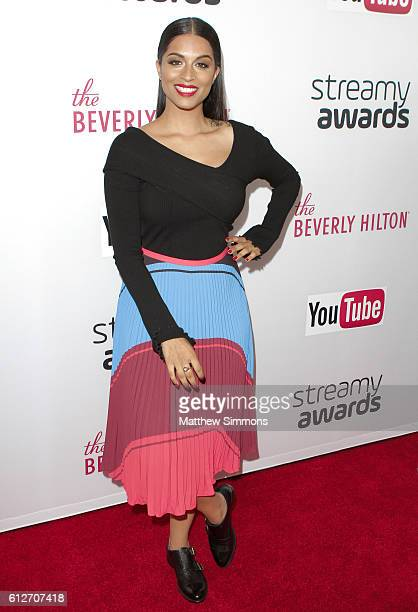 Internet personality Lilly Singh attends the 2016 Streamy Awards at The Beverly Hilton Hotel on October 4 2016 in Beverly Hills California