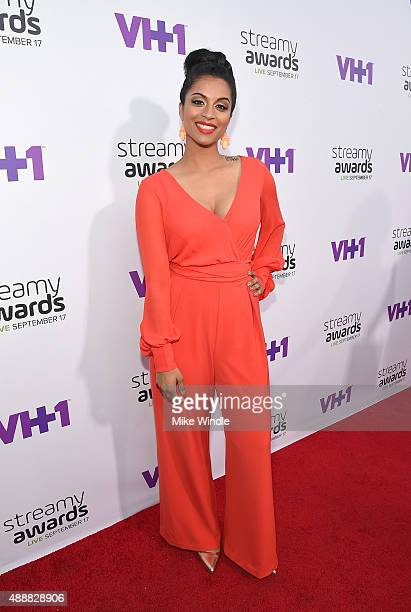 Internet personality Lilly Singh attends VH1's 5th Annual Streamy Awards at the Hollywood Palladium on Thursday September 17 2015 in Los Angeles...
