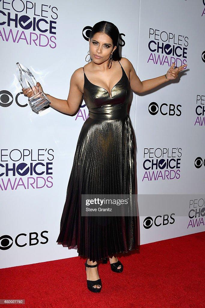 People's Choice Awards 2017 - Press Room