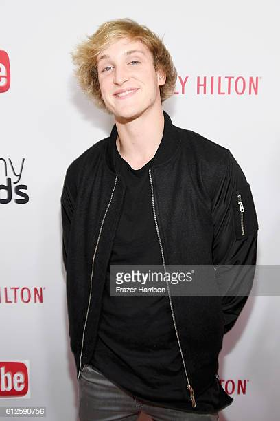 Internet personality Logan Paul attends the 6th annual Streamy Awards hosted by King Bach and live streamed on YouTube at The Beverly Hilton Hotel on...
