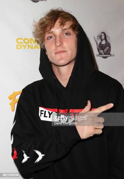 Internet personality Logan Paul attends the premiere of Comedy Dynamics' The Fury of the Fist and the Golden Fleece at Laemmle's Music Hall 3 on May...