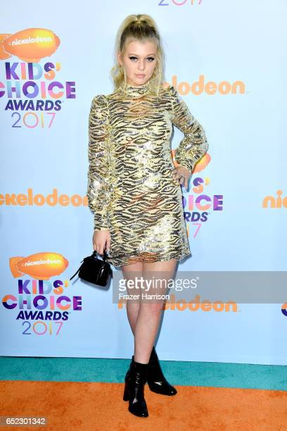 Internet Personality Loren Gray at Nickelodeon's 2017 Kids' Choice Awards at USC Galen Center on March 11 2017 in Los Angeles California