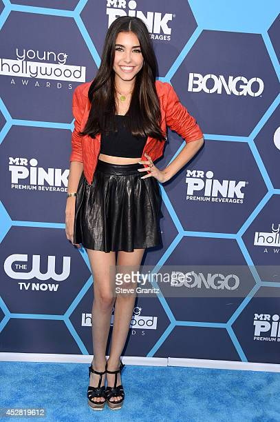 Internet personality Maddie Beer attends the 2014 Young Hollywood Awards held at The Wiltern on July 27 2014 in Los Angeles California
