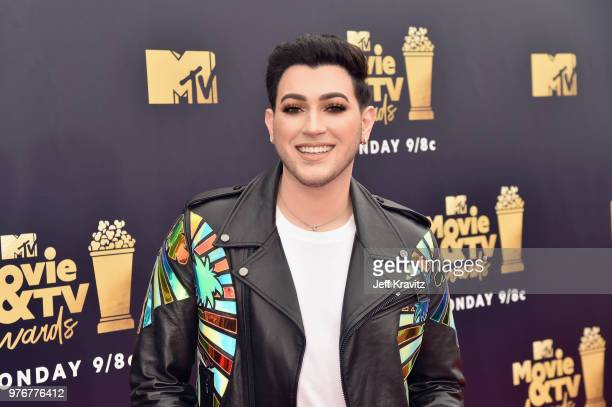 Internet personality Manny Gutierrez attends the 2018 MTV Movie And TV Awards at Barker Hangar on June 16 2018 in Santa Monica California
