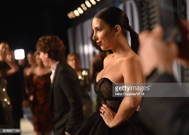 Internet personality Mariale Marrero attends the 2018 Vanity Fair Oscar Party hosted by Radhika Jones at Wallis Annenberg Center for the Performing...