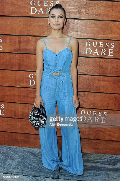 Internet personality Marta Pozzan attends GUESS Celebration Launch of Dare Double Dare Fragrance at Ysabel on July 27 2016 in West Hollywood...