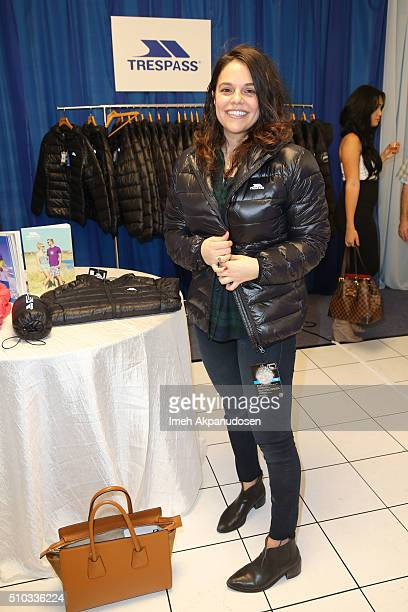 Internet personality Maya Burkenroad attends the GRAMMY Gift Lounge during The 58th GRAMMY Awards at Staples Center on February 14 2016 in Los...