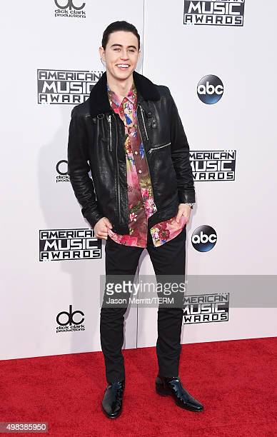 Internet personality Nash Grier attends the 2015 American Music Awards at Microsoft Theater on November 22 2015 in Los Angeles California