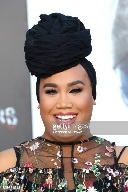 Internet personality Patrick Starrr at the premiere of Lionsgate's 'Power Rangers' on March 22 2017 in Westwood California
