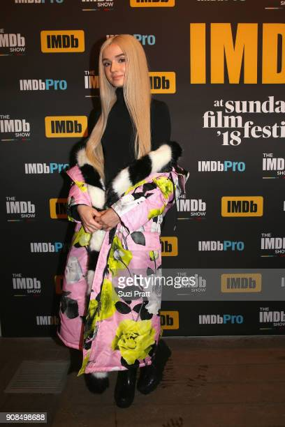 Internet personality Poppy attends The IMDb Studio and The IMDb Show on Location at The Sundance Film Festival on January 21 2018 in Park City Utah