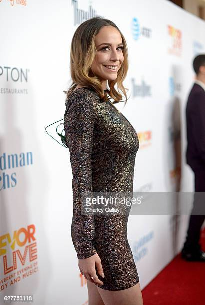 Internet personality Shira Lazar attends The Trevor Project's 2016 TrevorLIVE LA at The Beverly Hilton Hotel on December 4, 2016 in Beverly Hills,...