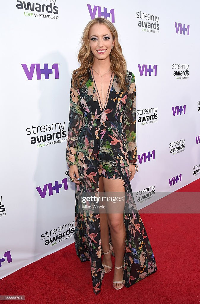 Internet personality Taryn Southern attends VH1's 5th Annual Streamy Awards at the Hollywood Palladium on Thursday, September 17, 2015 in Los Angeles, California.