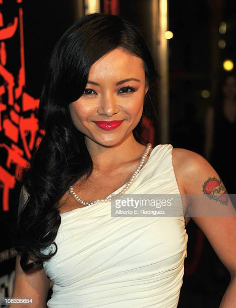 Internet personality Tila Tequila arrives to the premiere of CBS Films' 'The Mechanic' on January 25 2011 in Los Angeles California