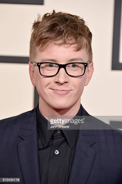 Internet personality Tyler Oakley attends The 58th GRAMMY Awards at Staples Center on February 15 2016 in Los Angeles California