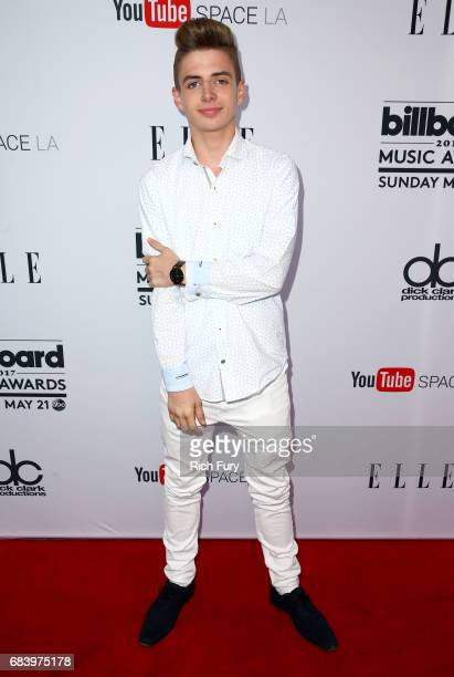 Internet personality Zach Clayton attends the '2017 Billboard Music Awards' And ELLE Present Women In Music At YouTube Space LA at YouTube Space LA...