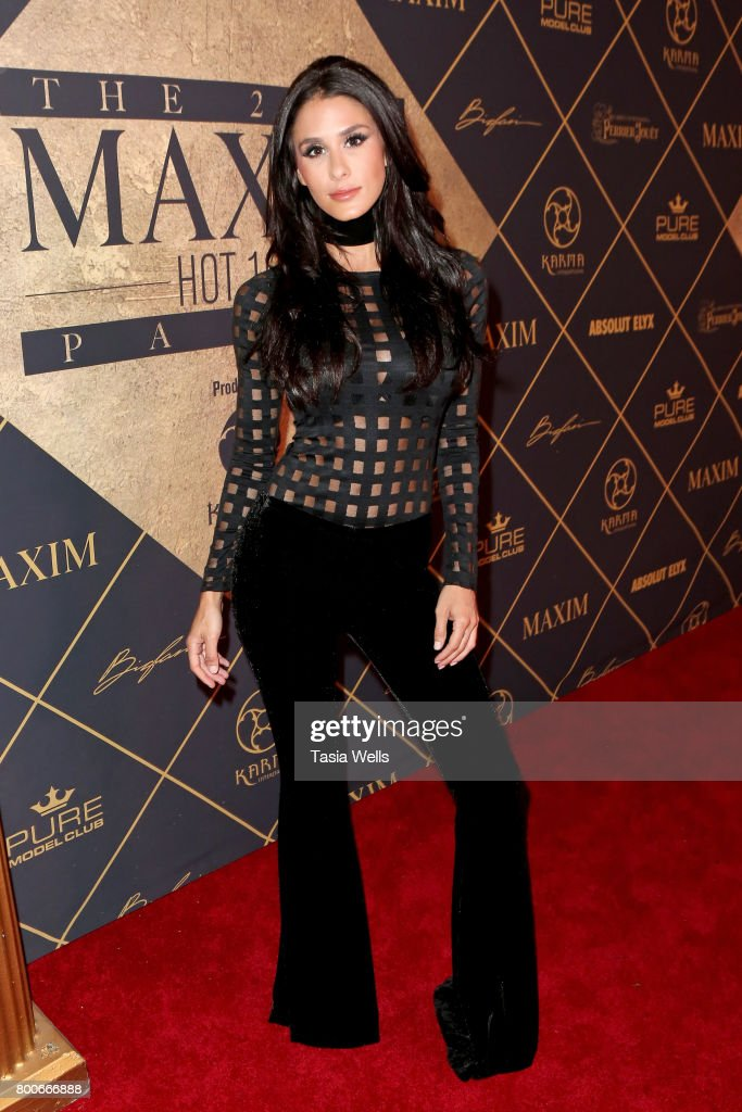 Internet personality/comedian Brittany Furlan attends the 2017 MAXIM Hot 100 Party at Hollywood Palladium on June 24, 2017 in Los Angeles, California.