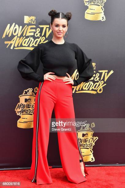 Internet personalitysinger Rebecca Black attends the 2017 MTV Movie and TV Awards at The Shrine Auditorium on May 7 2017 in Los Angeles California