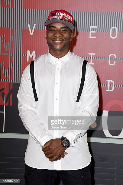 Internet personaly Charlamagne Tha God attends the 2015 MTV Video Music Awards at Microsoft Theater on August 30 2015 in Los Angeles California