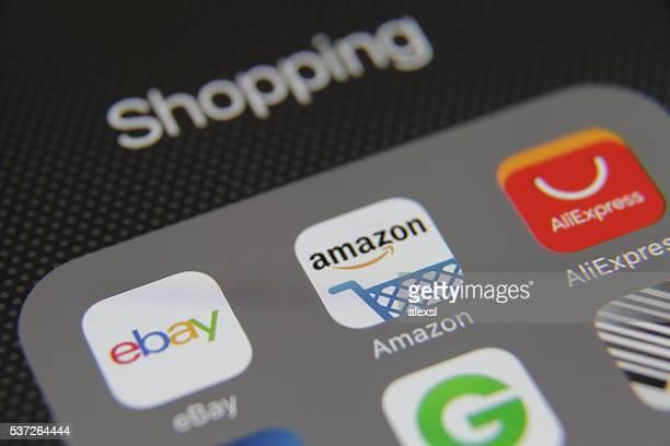 Internet shopping e-commerce application