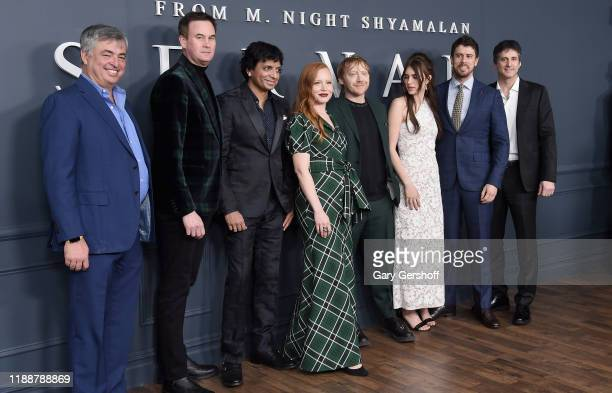 SVP Internet Software and Services for Apple Eddy Cue Head of Worldwide Video for Apple Zac Van Amburg M Knight Shyamalan Lauren Ambrose Rupert Grint...