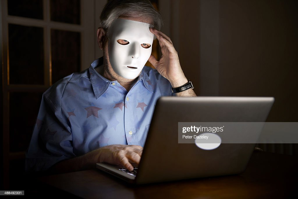 Internet troll : Stock Photo