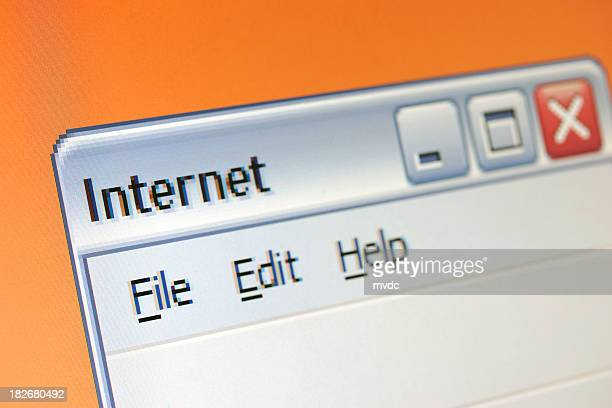 Internet window