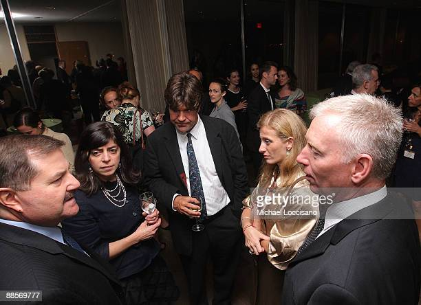 Interpol Executive Committee Member Thomas Fuentes, HBO Documentary Films VP Nancy Abraham, Director Greg Barker and Film Subjects Carolina Larriera...