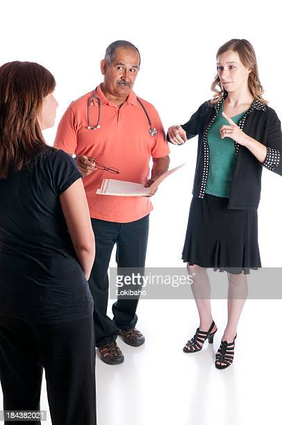 ASL Interpreter Helps Doctor and Patient Communicate