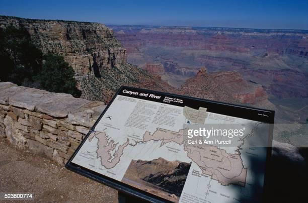 Interpretive Sign at the Grand Canyon