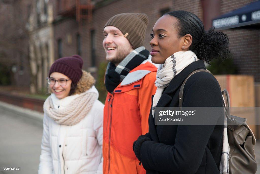 unga svarta flick vänner