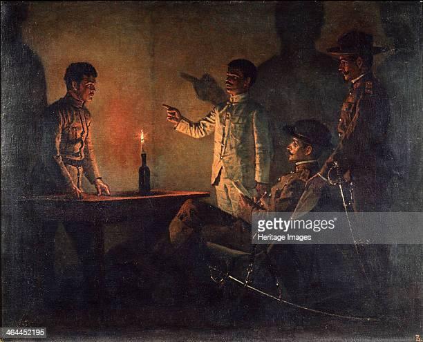 Interrogation of a Deserter c19011902 Found in the collection of the Regional W Wereshchagin Art Museum Mykolaiv