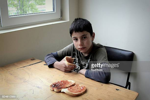 Interrupted childhood is a visual journey through the daily life of refugee children divided and living in six field camps in Bulgaria on June 17...