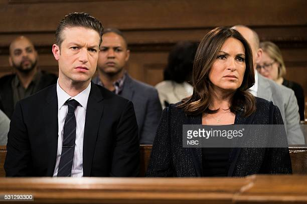 UNIT Intersecting Lives Episode 1722 Pictured Peter Scanavino as Dominick Sonny Carisi Mariska Hargitay as Lieutenant Olivia Benson