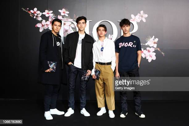 Intersection attends the photocall at the Dior Pre Fall 2019 Men's Collection on November 30, 2018 in Tokyo, Japan.