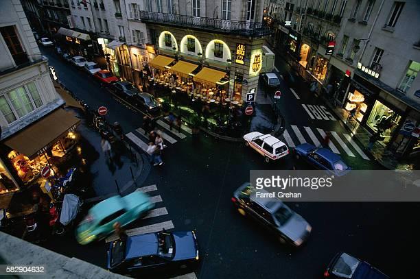 Intersection of Rue de Buci