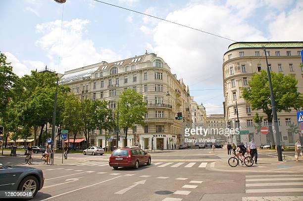 Intersection off Stubenring, Vienna, Austria