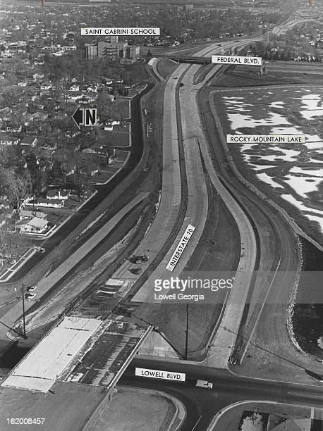 JAN 18 1966 JAN 29 1966 JAN 30 1966 Interstate 70 the eastwest expressway loop through north Denver is continuing its westward construction Most of...