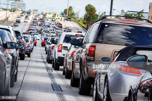 Interstate I95 highway traffic