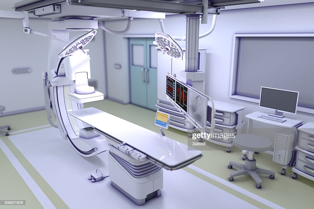 Interventional X-ray System : Stock Photo