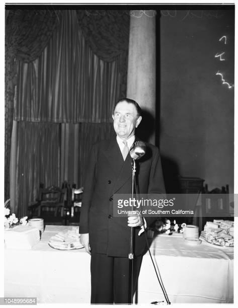 Interview, 16 January 1952. Lord Wakehurst;Douglas Fairbanks, Junior;Mrs Douglas Fairbanks;James R Page ..