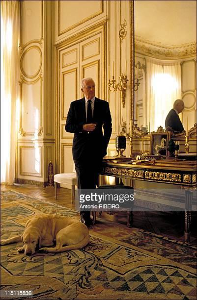 Interview de Hubert De Givenchy in Paris France on November 22 1993