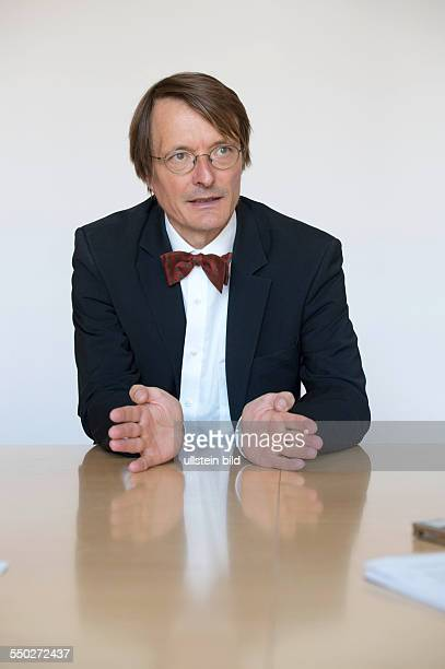Interview mit Karl Wilhelm Lauterbach Arzt und Politiker, Sprecher der Arbeitsgruppe Gesundheit der SPD-Bundestagsfraktion