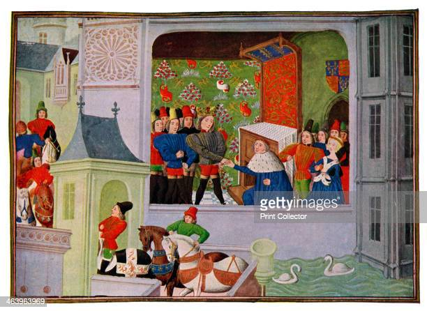 'Interview of Richard II and the Duke of Gloucester' 14th century The youngest son of Edward III of England Thomas Woodstock 1st Duke of Gloucester...