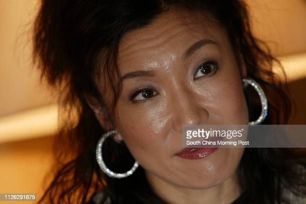 Interview of Yumi Matsutoya Yumi at Intercontinental Hotel, Tsim Sha Tsui East. 08 October 2003