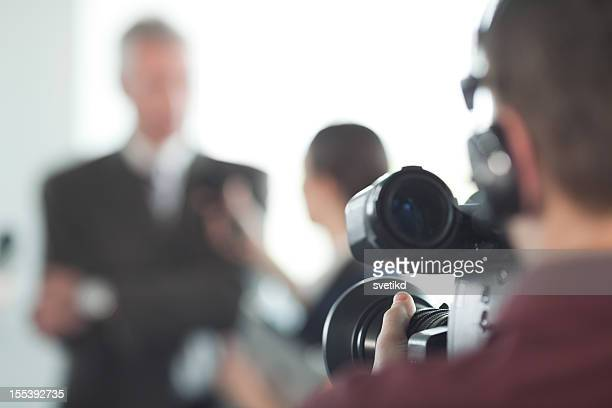interview. - cinematographer stock pictures, royalty-free photos & images