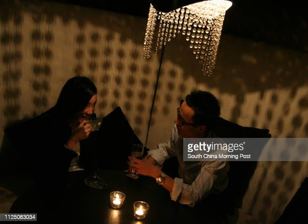 Interview with dating tutors Tammy Chan Wingsum and Kenneth Tsea Tinhang at Icy bar restaurant in Wan Chai 16 October 2007