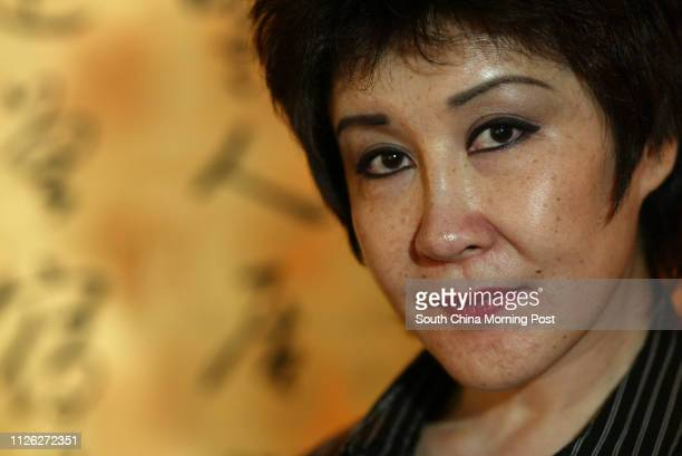 Interview with former actress Betty Ting Pei at Intercontinental Hotel Tsim Sha Tsui 16 July 2003