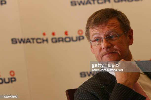 Interview with Kevin Rollenhagen, President of Swatch Group . Pictured at Venetian Macau Resort Hotel, Macau. 01 NOVEMBER 2007