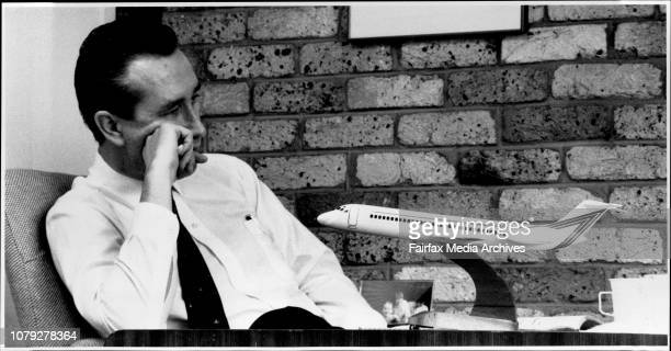 Interview with Mr Ronald Bartsch head of AAA Airlines at his Woolloomooloo offices February 11 1990