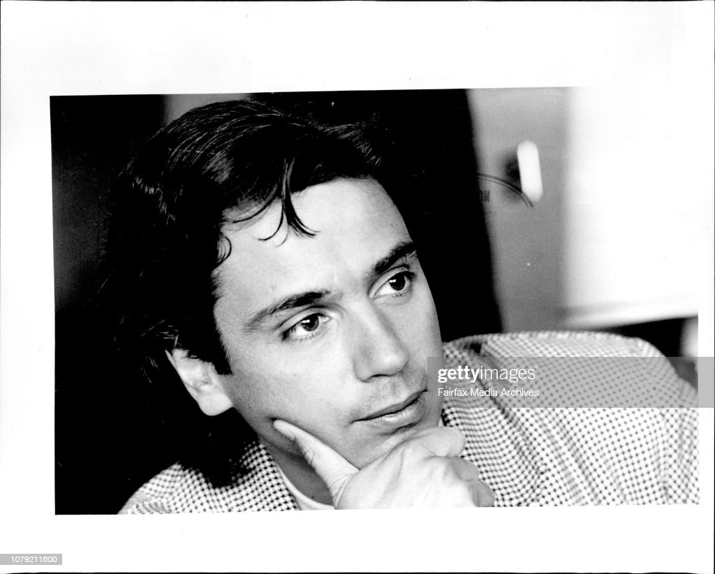 Interview with musician Jean Michael Jarre at the Sebel. : News Photo